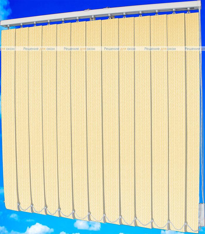 Жалюзи вертикальные МАГНОЛИЯ 4221 кремовый от производителя жалюзи и рулонных штор РДО