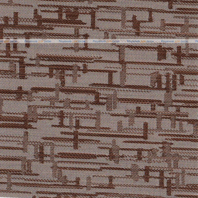 Вертикальные ламели ( без карниза ) МАИС 2870 коричневый от производителя жалюзи и рулонных штор РДО