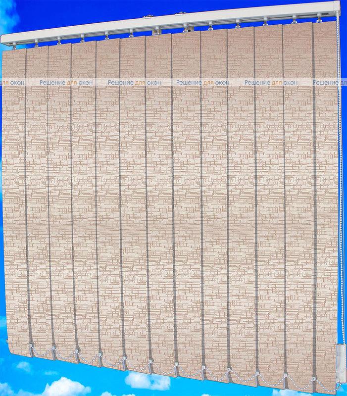 Жалюзи вертикальные МАИС 4210 персик от производителя жалюзи и рулонных штор РДО