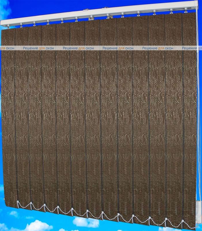 Жалюзи вертикальные МАНИЛА 2870 коричневый от производителя жалюзи и рулонных штор РДО