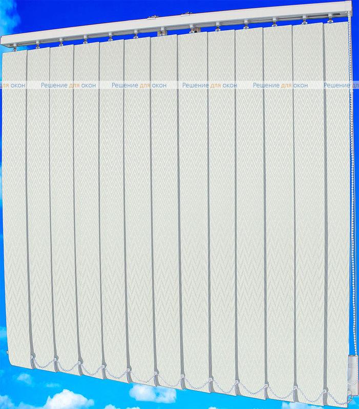 Жалюзи вертикальные МАРАН 01 белый от производителя жалюзи и рулонных штор РДО