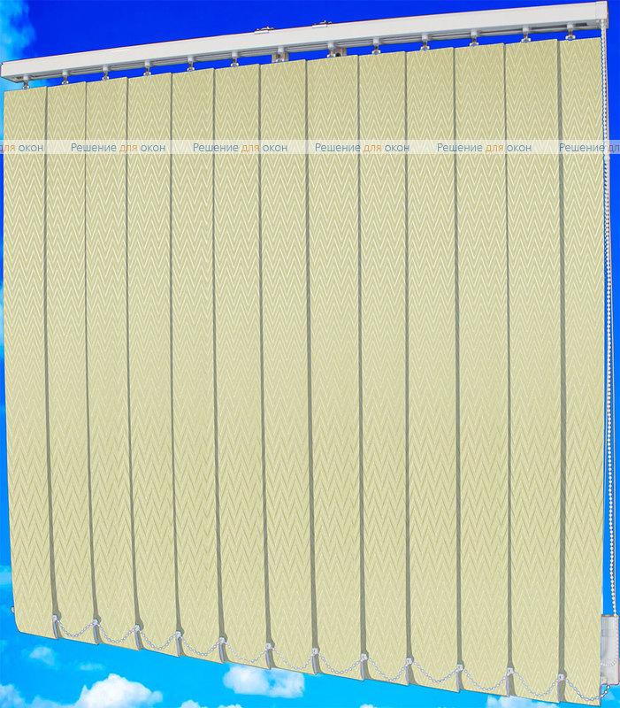 Жалюзи вертикальные МАРАН 02 кремовый от производителя жалюзи и рулонных штор РДО