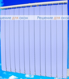 Жалюзи вертикальные МАРАН 10 голубой от производителя жалюзи и рулонных штор РДО