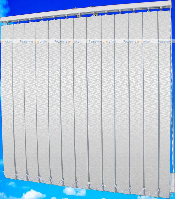 Жалюзи вертикальные МАРСЕЛЬ 0225 белый от производителя жалюзи и рулонных штор РДО