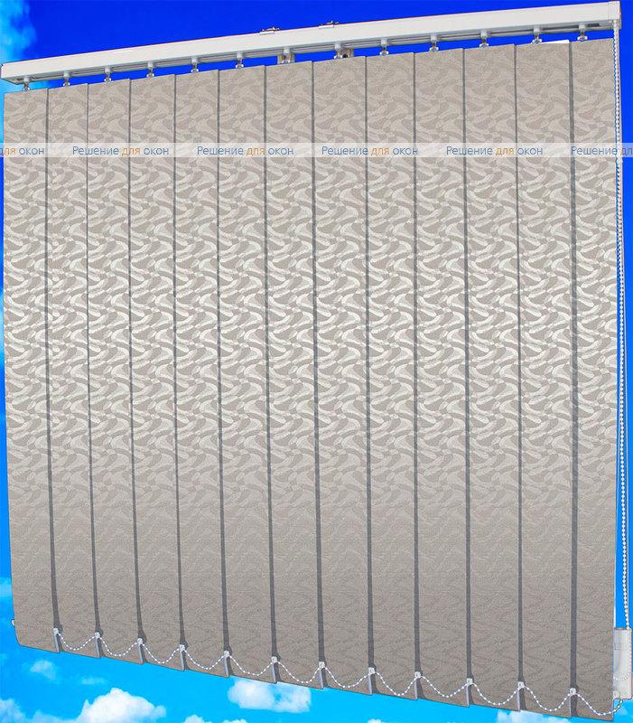 Жалюзи вертикальные МАРСЕЛЬ 1608 светло-серый от производителя жалюзи и рулонных штор РДО