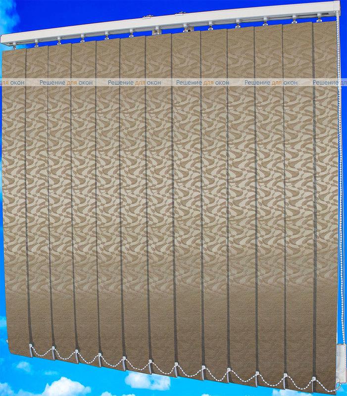 Жалюзи вертикальные МАРСЕЛЬ 2406 бежевый от производителя жалюзи и рулонных штор РДО