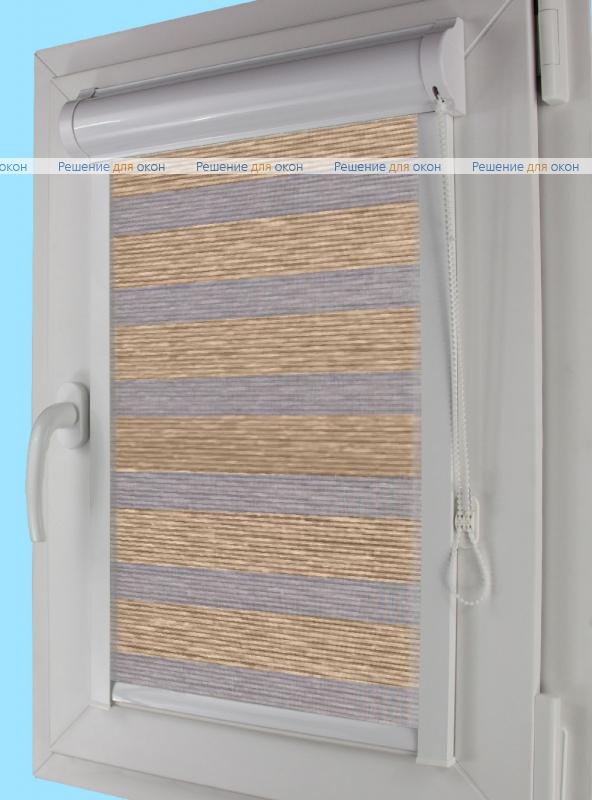 Уни плюс Зебра  МЕТАЛЛИК Б/О 3 от производителя жалюзи и рулонных штор РДО