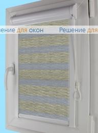 Уни плюс Зебра  МЕТАЛЛИК Б/О 6 от производителя жалюзи и рулонных штор РДО