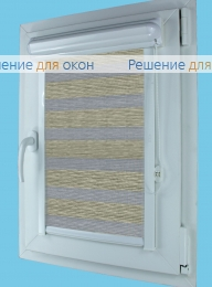 Витео плюс Зебра  МЕТАЛЛИК Б/О 6 от производителя жалюзи и рулонных штор РДО