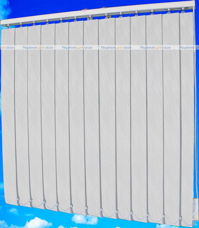 Жалюзи вертикальные МИЛАН 0225 белый от производителя жалюзи и рулонных штор РДО