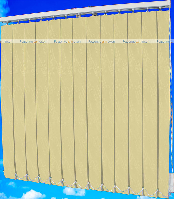Жалюзи вертикальные МИЛАН 4221 кремовый от производителя жалюзи и рулонных штор РДО