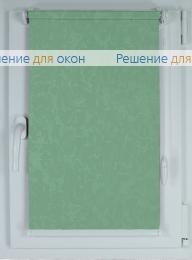 Рулонные шторы КОМПАКТ МИРАКЛ 625 бирюзовый от производителя жалюзи и рулонных штор РДО