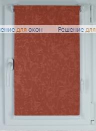Рулонные шторы КОМПАКТ МИРАКЛ 628 коралловый от производителя жалюзи и рулонных штор РДО