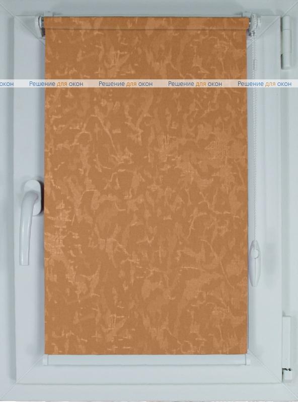 Рулонные шторы КОМПАКТ МИРАКЛ 658 абрикосовый от производителя жалюзи и рулонных штор РДО