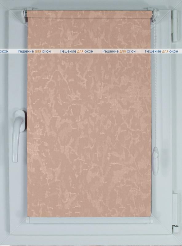 Рулонные шторы КОМПАКТ МИРАКЛ 660 бледно-пурпурный от производителя жалюзи и рулонных штор РДО