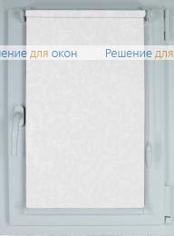 Рулонные шторы КОМПАКТ МИРАКЛ 897 белый от производителя жалюзи и рулонных штор РДО