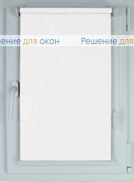 Рулонные шторы КОМПАКТ МИРАКЛ Б/О 01 белый от производителя жалюзи и рулонных штор РДО