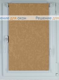 Рулонные шторы КОМПАКТ МИРАКЛ Б/О 29 желтый от производителя жалюзи и рулонных штор РДО