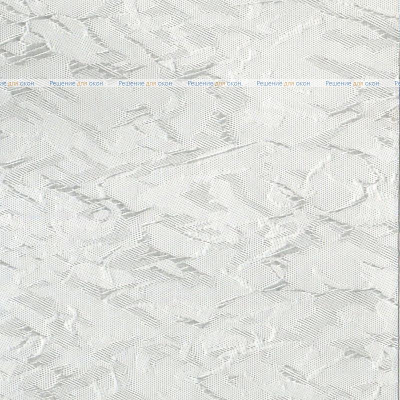Вертикальные ламели ( без карниза ) МИРАКЛ 0225 белый от производителя жалюзи и рулонных штор РДО