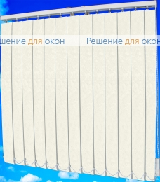 Жалюзи вертикальные МИРАКЛ 0225 белый от производителя жалюзи и рулонных штор РДО