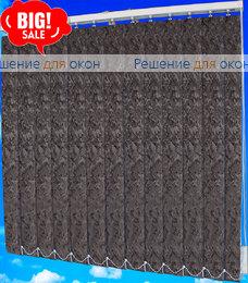Жалюзи вертикальные МИРАКЛ 1908 черный от производителя жалюзи и рулонных штор РДО