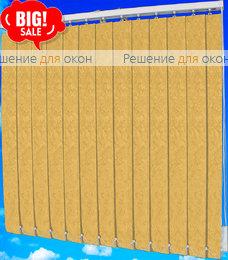Жалюзи вертикальные МИРАКЛ 2746 т. бежевый от производителя жалюзи и рулонных штор РДО