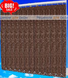 Жалюзи вертикальные МИРАКЛ 2871 коричневый от производителя жалюзи и рулонных штор РДО