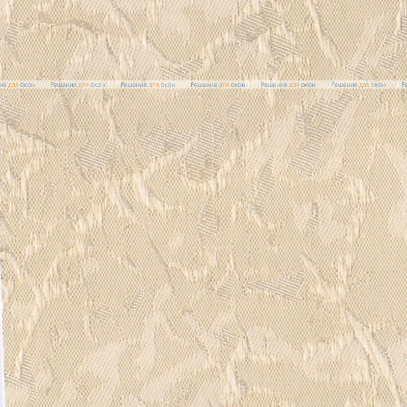 Вертикальные ламели ( без карниза ) МИРАКЛ II 02 кремовый от производителя жалюзи и рулонных штор РДО