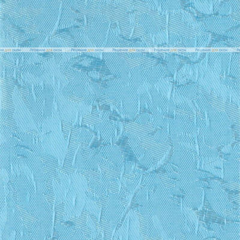 Вертикальные ламели ( без карниза ) МИРАКЛ II 10 голубой от производителя жалюзи и рулонных штор РДО