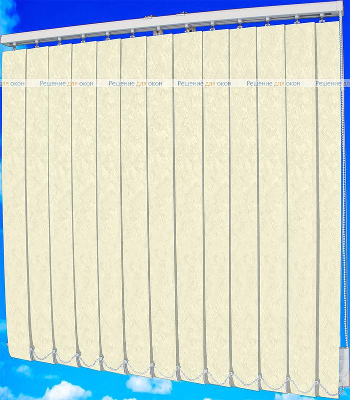 Жалюзи вертикальные МИРАКЛ II 01 белый от производителя жалюзи и рулонных штор РДО