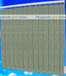 Жалюзи вертикальные МИРАКЛ II 08 серый от производителя жалюзи и рулонных штор РДО