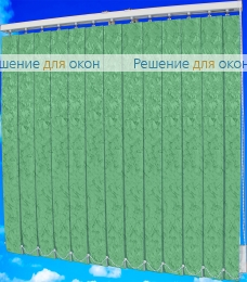 Жалюзи вертикальные МИРАКЛ II 27 салатовый от производителя жалюзи и рулонных штор РДО