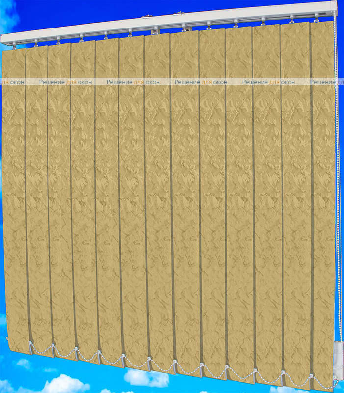 Жалюзи вертикальные МИРАКЛ II 29 бежевый от производителя жалюзи и рулонных штор РДО