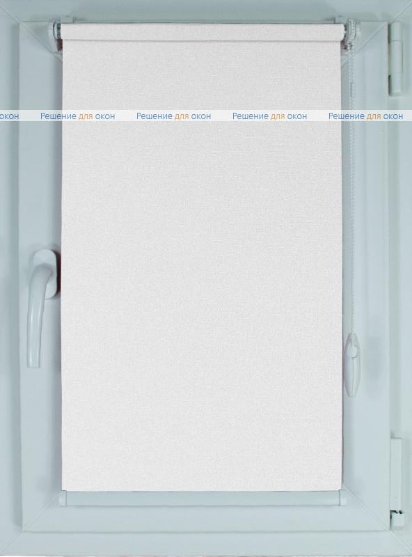 Рулонные шторы КОМПАКТ МИРАНДА 901 Жемчужно-белый от производителя жалюзи и рулонных штор РДО