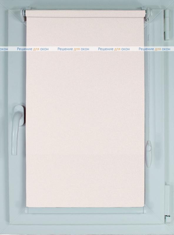 Рулонные шторы КОМПАКТ МИРАНДА 902 Слоновая кость от производителя жалюзи и рулонных штор РДО