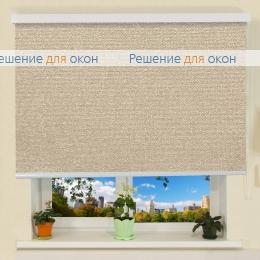 Коробные рулонные шторы РК-30 Бокс МИРАНДА 903 Бежевый от производителя жалюзи и рулонных штор РДО