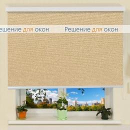 Коробные рулонные шторы РК-30 Бокс МИРАНДА 904 Миндальный от производителя жалюзи и рулонных штор РДО