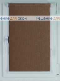 Рулонные шторы КОМПАКТ МИРАНДА 914 Кофейный от производителя жалюзи и рулонных штор РДО