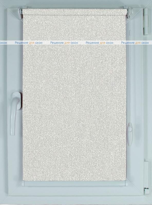 Рулонные шторы КОМПАКТ МИРАНДА Б/О 7260 Светлый алюминий от производителя жалюзи и рулонных штор РДО