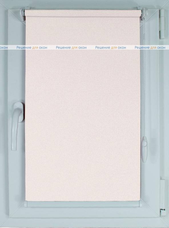 Рулонные шторы КОМПАКТ МИРАНДА Б/О 7854 Слоновая кость от производителя жалюзи и рулонных штор РДО