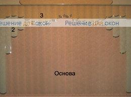 Жалюзи мультифактурные Модель №16 от производителя жалюзи и рулонных штор РДО