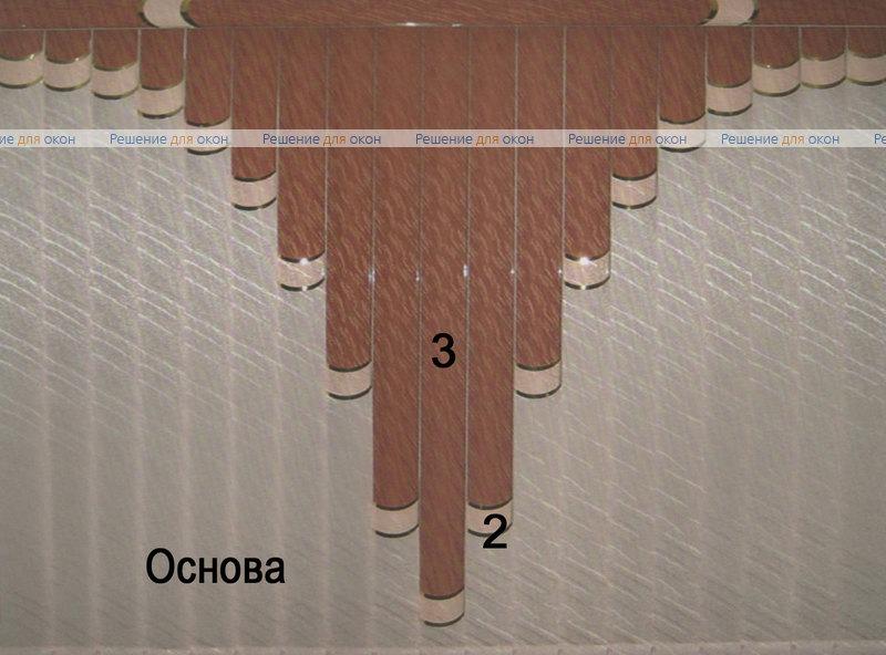 Жалюзи мультифактурные Модель №25 от производителя жалюзи и рулонных штор РДО
