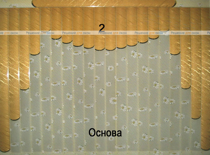 Жалюзи мультифактурные Модель №35 от производителя жалюзи и рулонных штор РДО