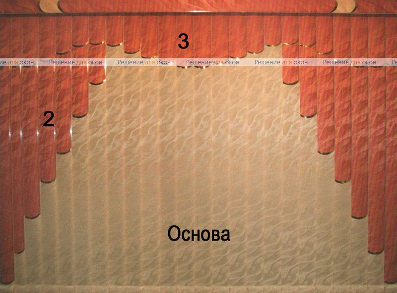 Жалюзи мультифактурные Модель №14 от производителя жалюзи и рулонных штор РДО