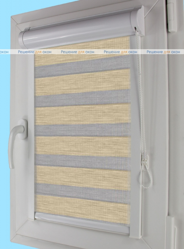 Уни плюс Зебра  НАТУРАЛ 5 от производителя жалюзи и рулонных штор РДО