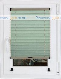 Шторы плиссе.Опера НГ 11021, морозная мята от производителя жалюзи и рулонных штор РДО