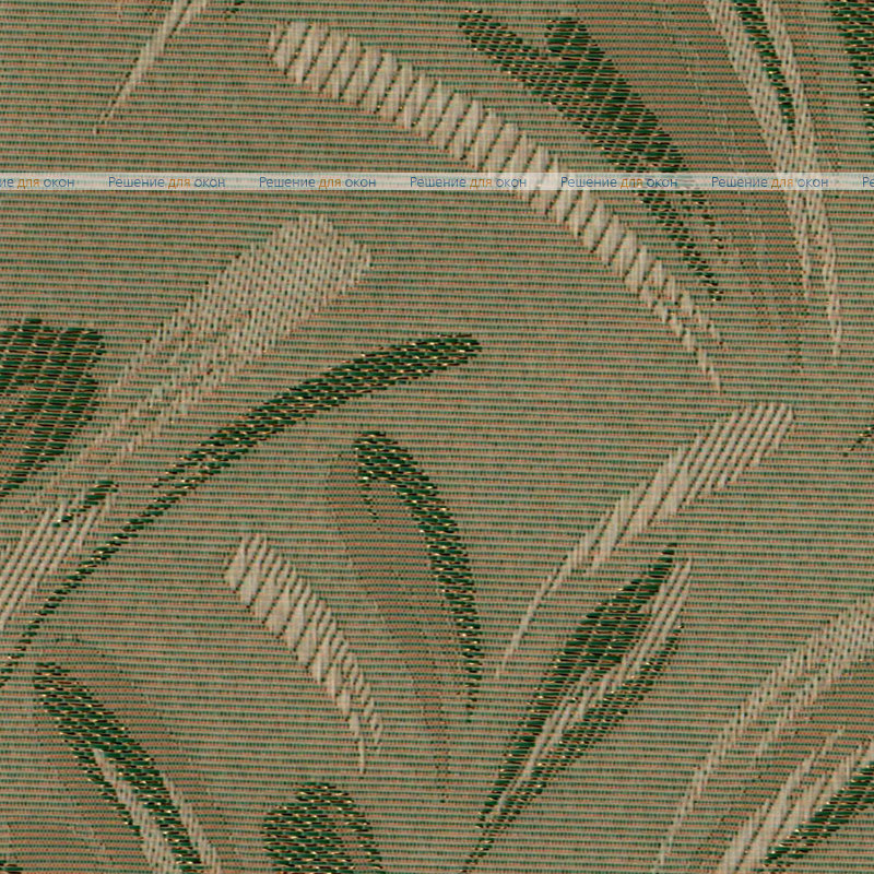 Вертикальные ламели ( без карниза ) ПАЛОМА классик 148 зеленый металлик от производителя жалюзи и рулонных штор РДО
