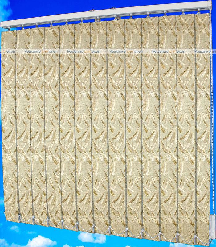 Жалюзи вертикальные ПАЛОМА классик 144 бронзовый металлик от производителя жалюзи и рулонных штор РДО