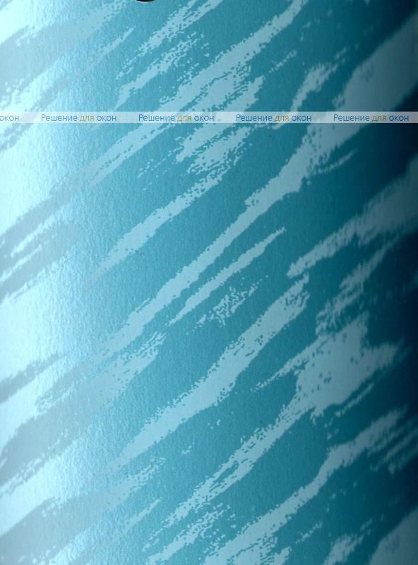Вертикальные ламели ( без карниза ) платиковые МРАМОР голубой от производителя жалюзи и рулонных штор РДО