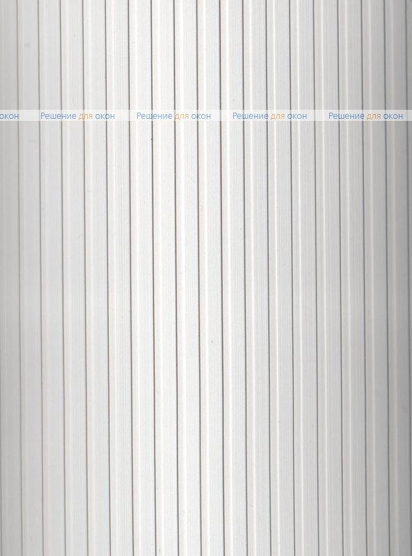 Вертикальные ламели ( без карниза ) платиковые РИБКОРД белый от производителя жалюзи и рулонных штор РДО